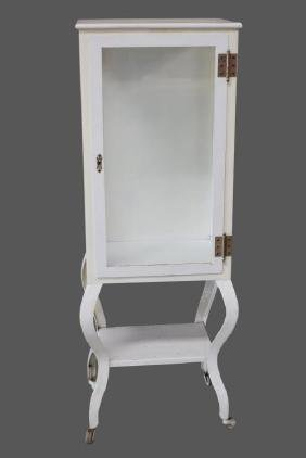 "Painted Medical Cabinet 58 1/4""H,   22""  x   17"""