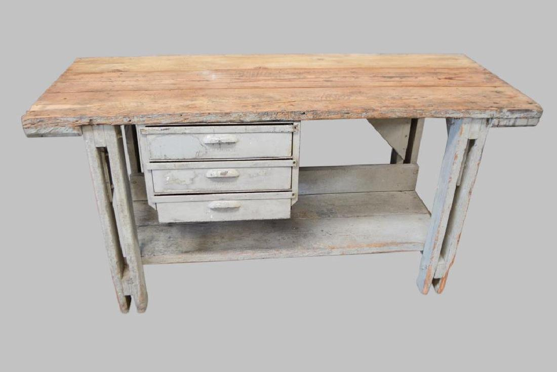 "Industrial Work Table 36""H,   72""L,   28""W"