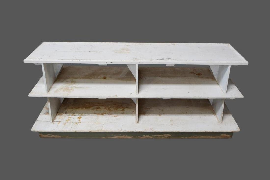 "Painted Bakery Store Display 36 1/2""H,   96 1/4""L,"