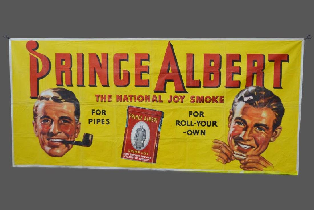 "Prince Albert Tobacco Poster 43""  x   95"""