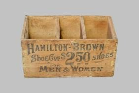"""Advertising Crate 13 1/2""""H,   26""""L,   14""""W"""