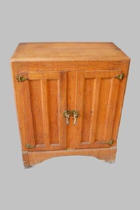 "Wooden Ice Box 41""H,   34""  x   19"""