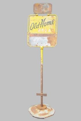 "Old Home Bread Sidewalk Sign metal 126""H,   34""  x"