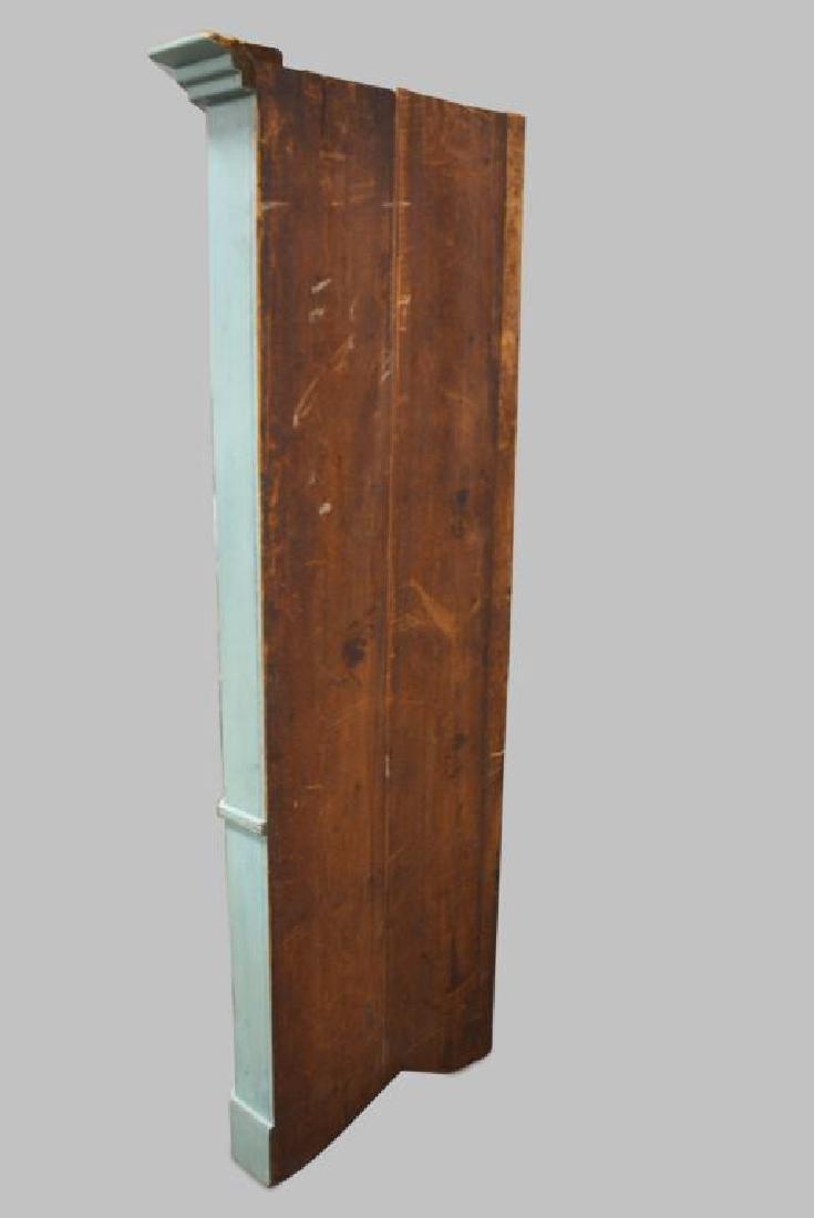 19th Cen. Pa. 12-Paned Corner Cupboard in Original - 4