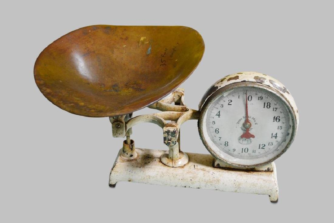 """General Store Scale 13""""H(scoop),   21""""  x   18"""""""