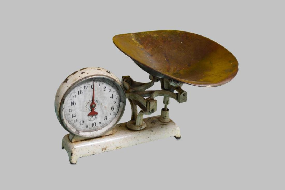 """General Store Scale 13""""H(scoop),   21""""  x   18"""" - 2"""
