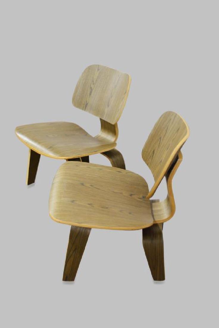 "Mid-Century Modern Chair X-2 27""H,   22""  x   24"" - 2"