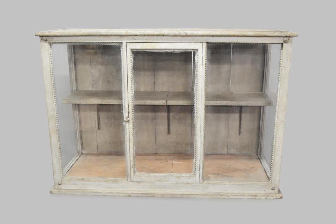 "French Store Display Case 35 1/2""H,   51 3/4""L,   19""W"