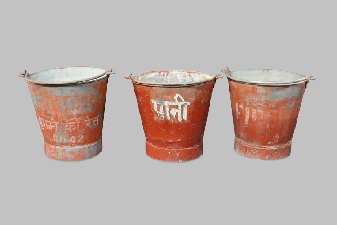 3pc. Bucket Lot
