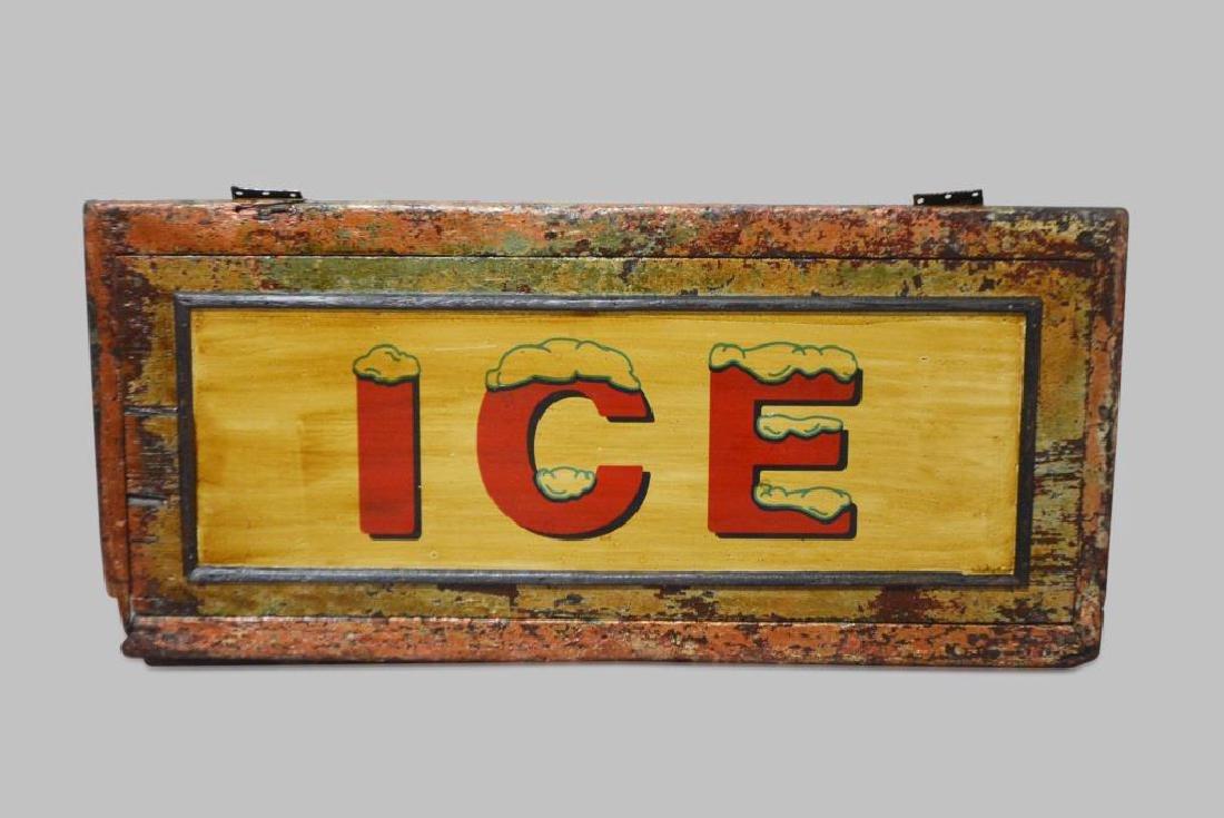 """ICE Sign 21""""  x   43"""""""