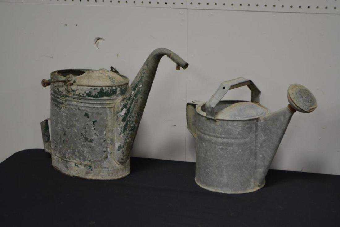 """5pc. Lot of Watering Cans 16 1/2""""H     /     13 1/2""""H - 2"""