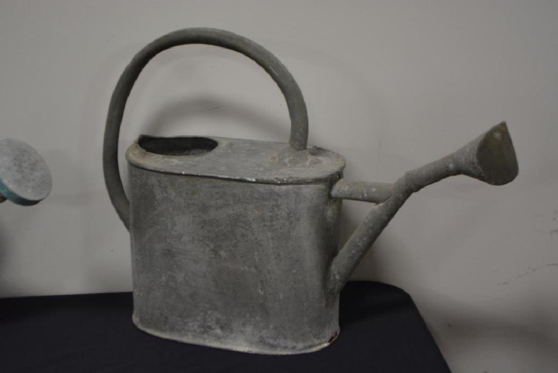 """5pc. Lot of Watering Cans 16 1/2""""H     /     13 1/2""""H - 4"""