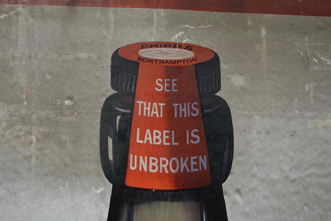 """Porcelain Beer Sign 72""""  x   40"""" - 2"""