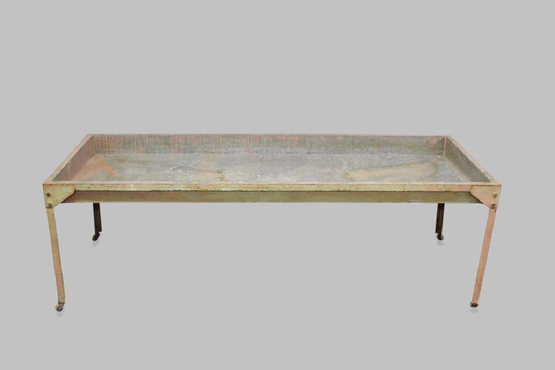 """Industrial Sorting Table 23 1/2""""H,   74 1/2""""L,   30""""W"""