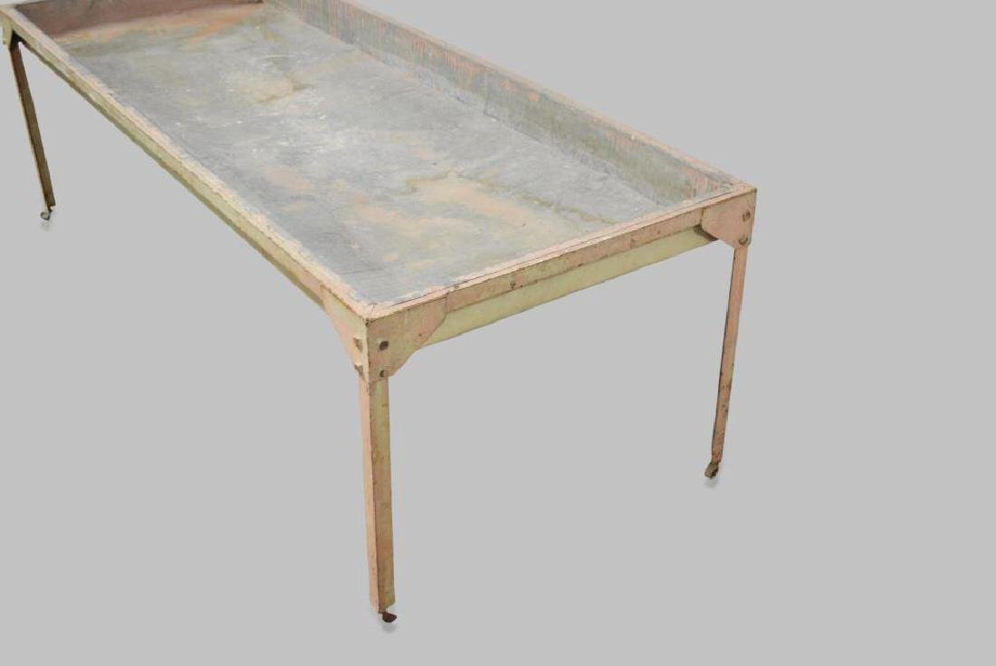 """Industrial Sorting Table 23 1/2""""H,   74 1/2""""L,   30""""W - 2"""