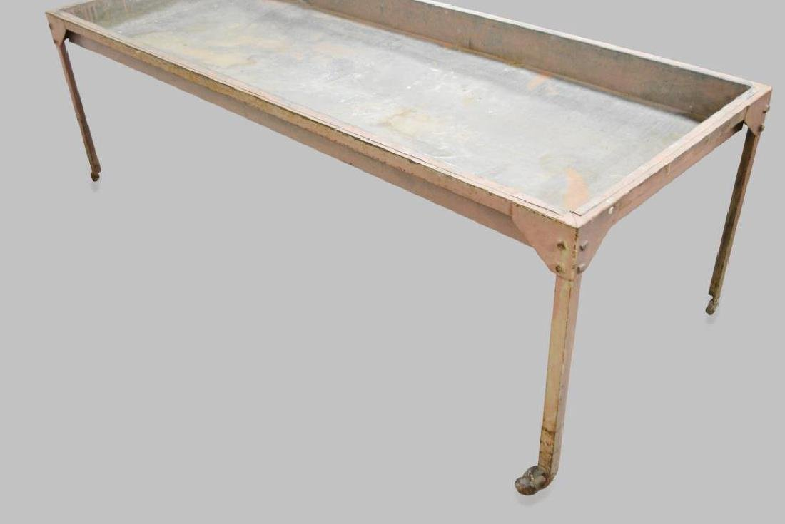 """Industrial Sorting Table 23 1/2""""H,   74 1/2""""L,   30""""W - 3"""