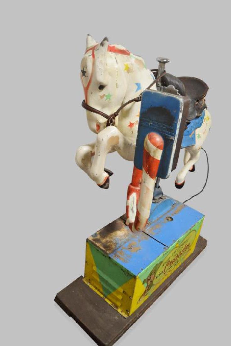 """Coin - Op Horse Ride 58""""H,   50""""L,   16 1/2""""(base) - 2"""