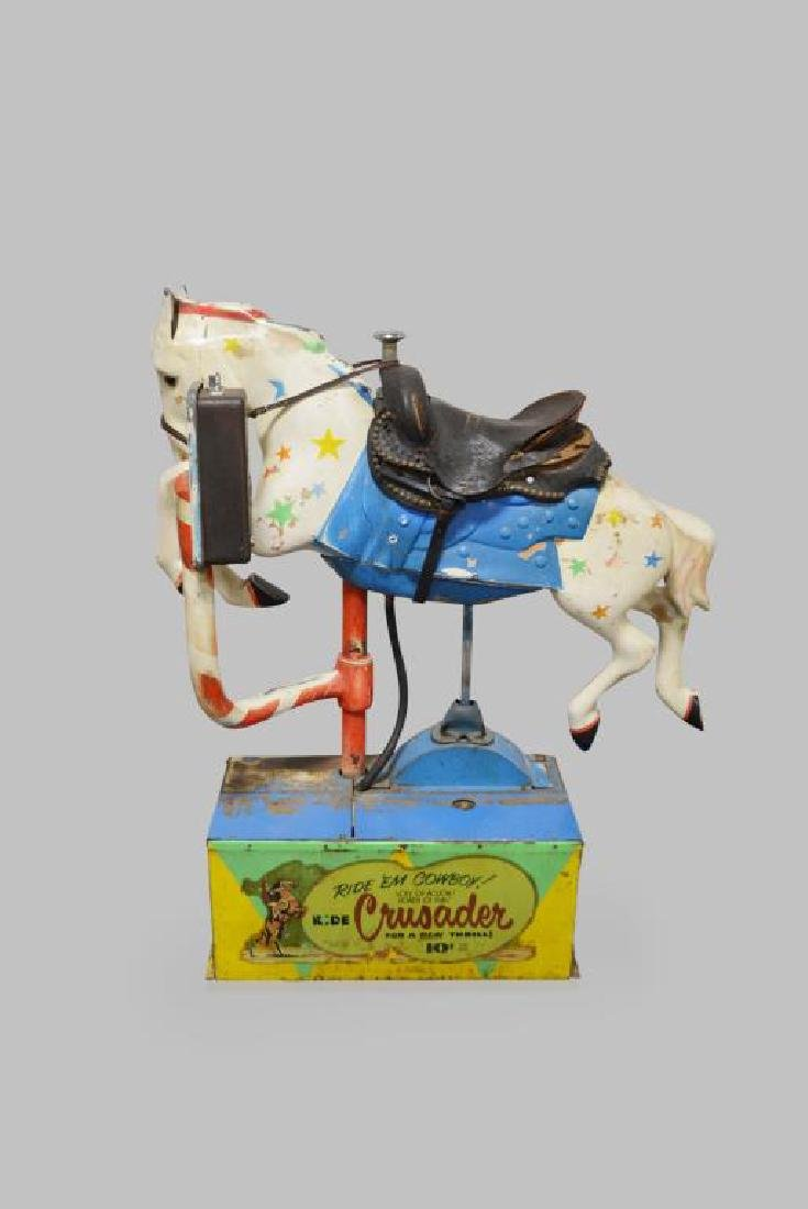 """Coin - Op Horse Ride 58""""H,   50""""L,   16 1/2""""(base) - 3"""