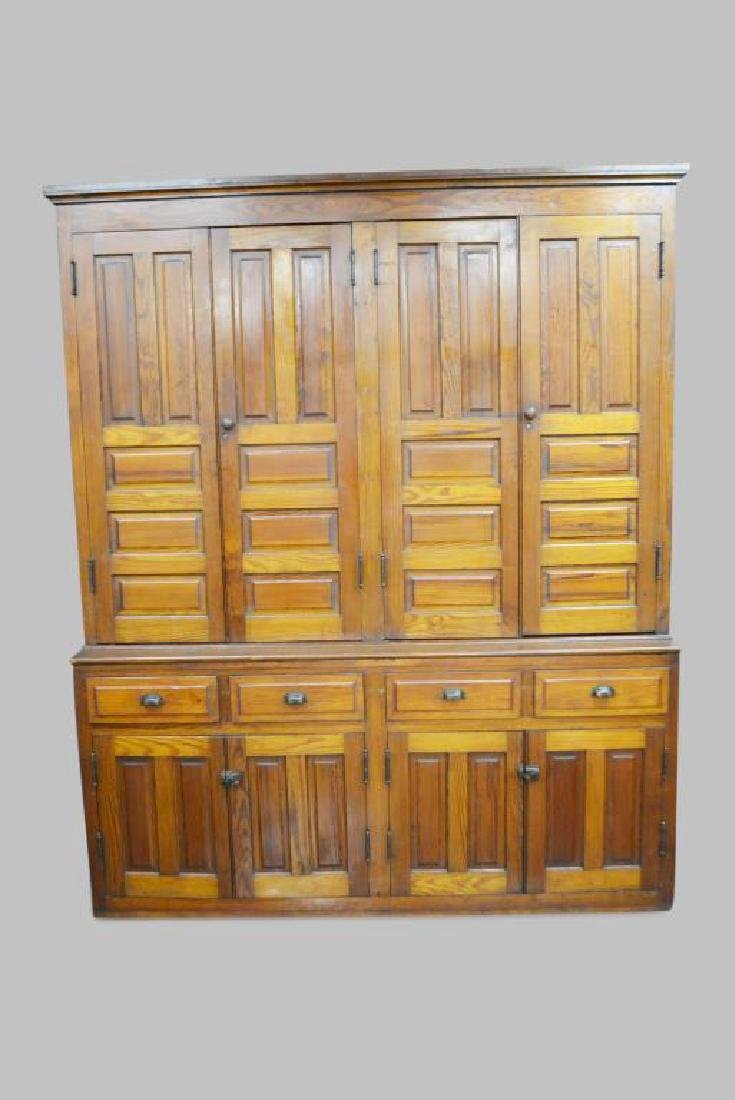 2 Piece Country Pine Cupboard 97 ...