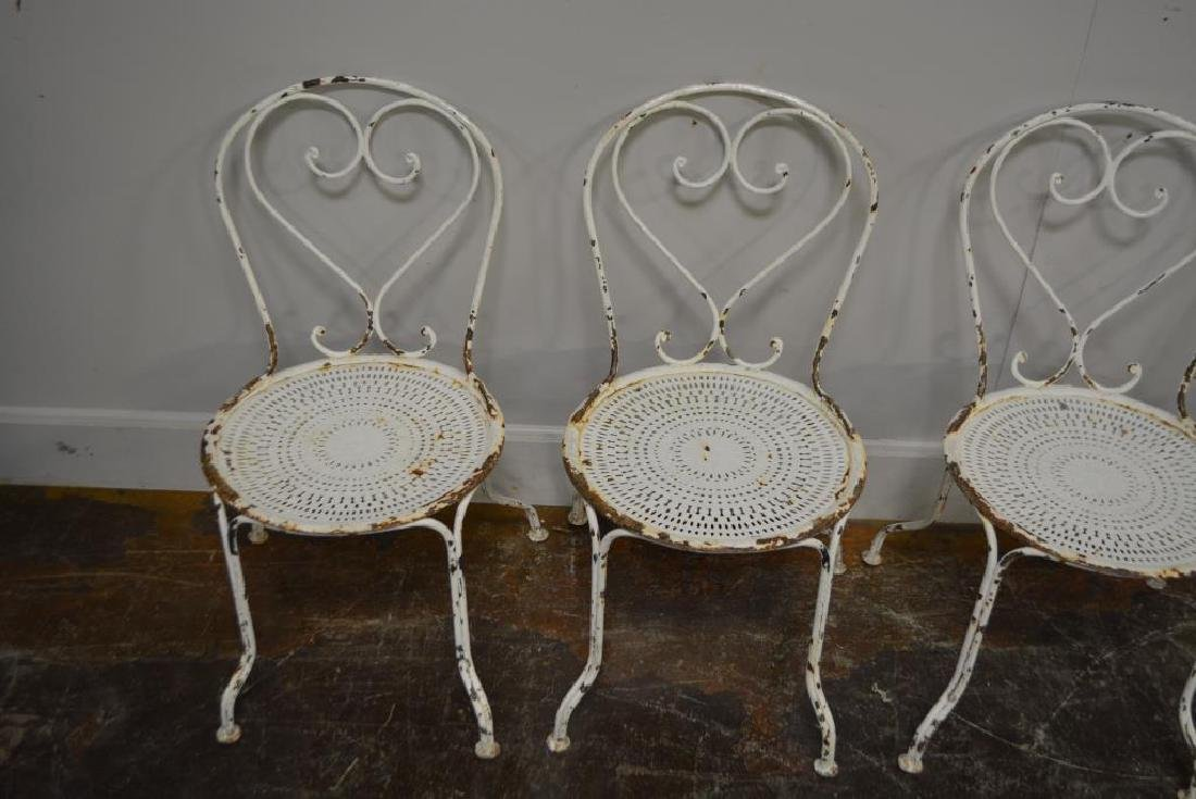 French Metal Painted Chair - 2