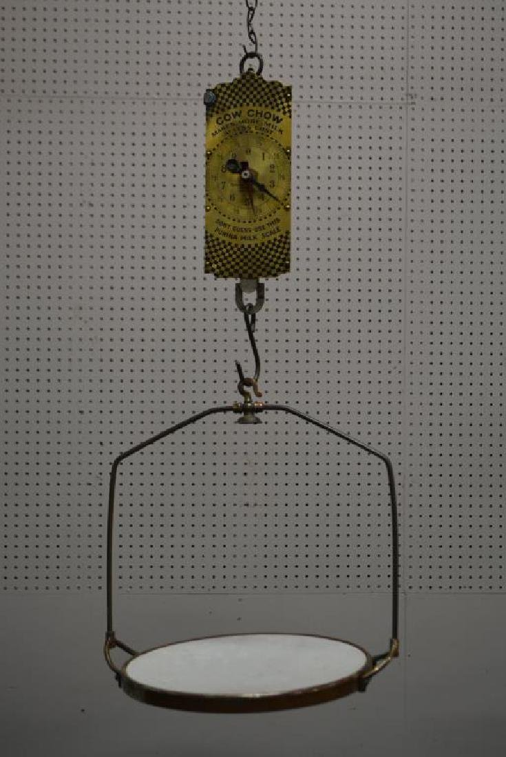 """2pc. Lot of Hanging General Store Scales 33 1/2""""H - 2"""