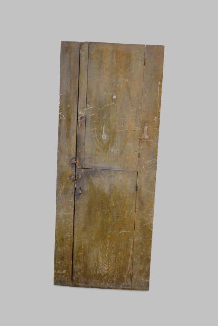 "Two Door Chimney Cupboard 77 1/2""H,   31""L,   14 1/2""W"