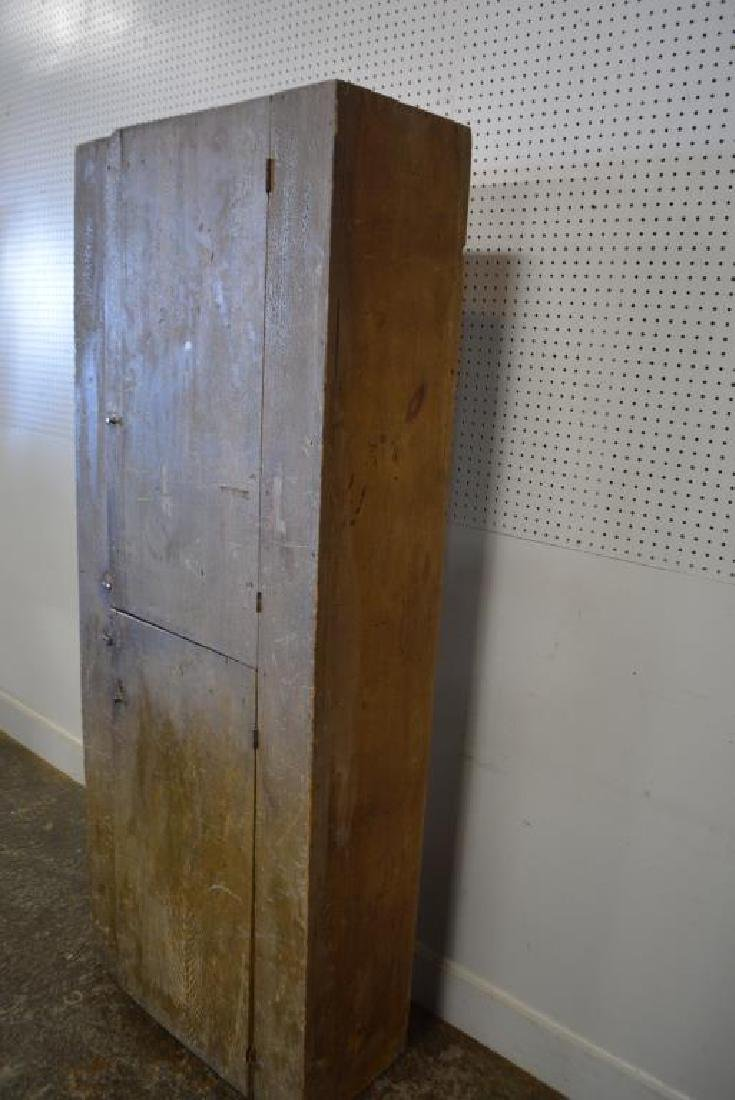 "Two Door Chimney Cupboard 77 1/2""H,   31""L,   14 1/2""W - 3"