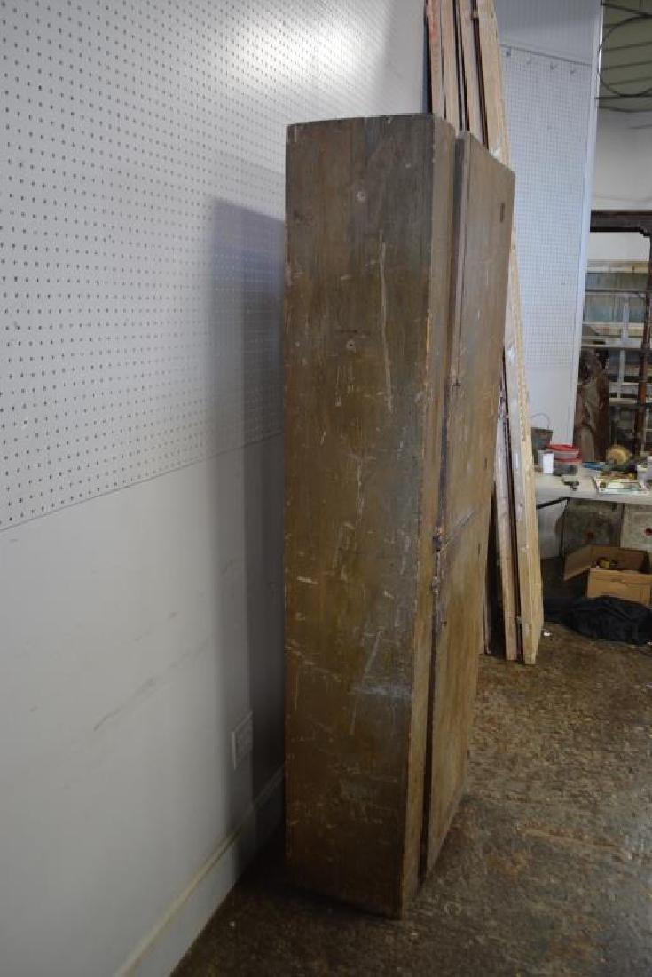 "Two Door Chimney Cupboard 77 1/2""H,   31""L,   14 1/2""W - 4"