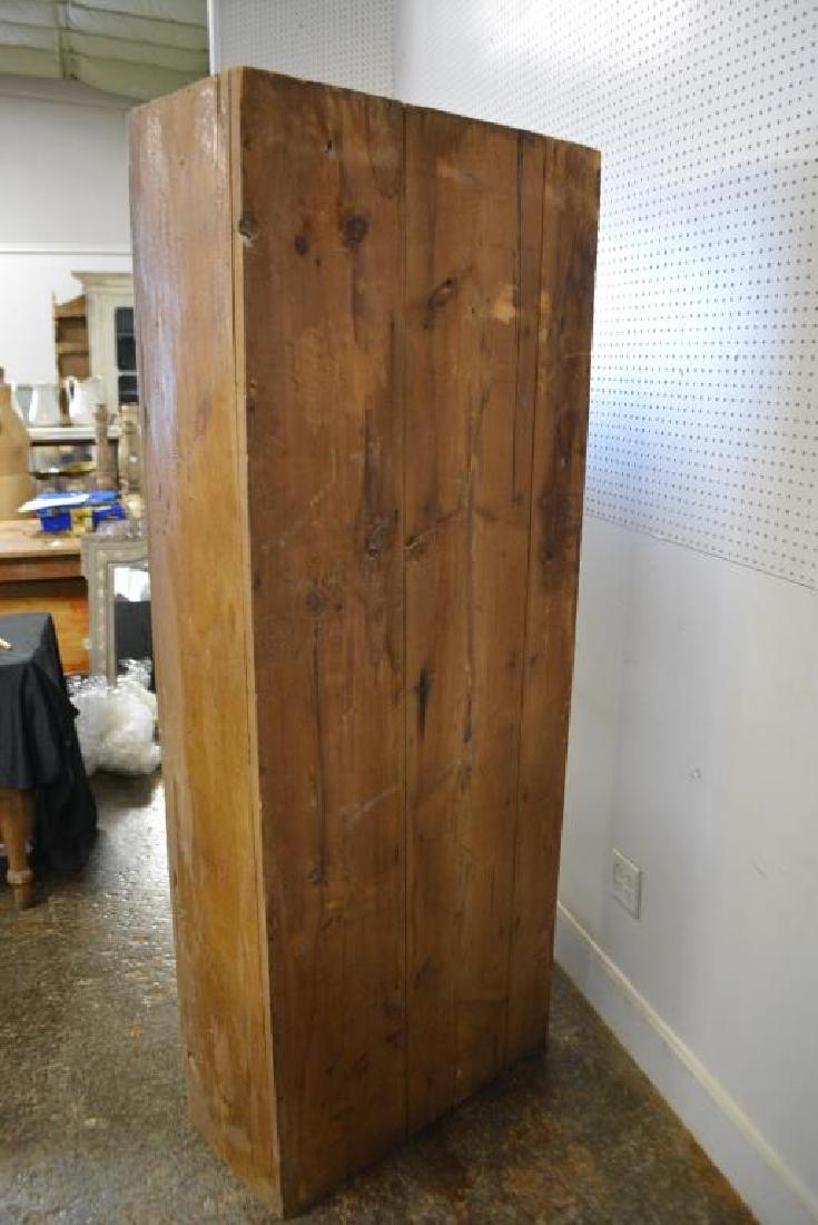 "Two Door Chimney Cupboard 77 1/2""H,   31""L,   14 1/2""W - 5"