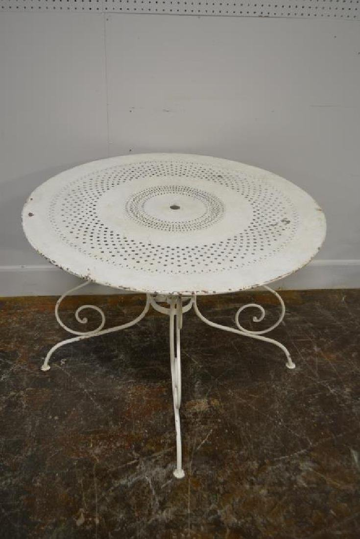 3pc. French Bistro Set table, 2 - 3