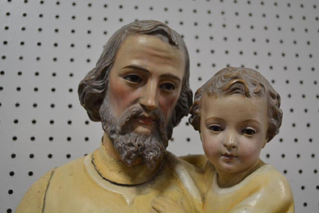 """Religious Statue 37 1/2""""H,   10 3/4""""  x   12"""" - 2"""