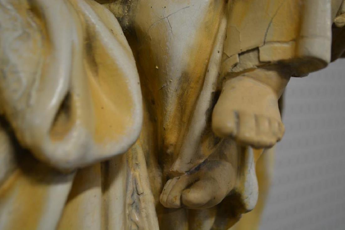 """Religious Statue 37 1/2""""H,   10 3/4""""  x   12"""" - 4"""