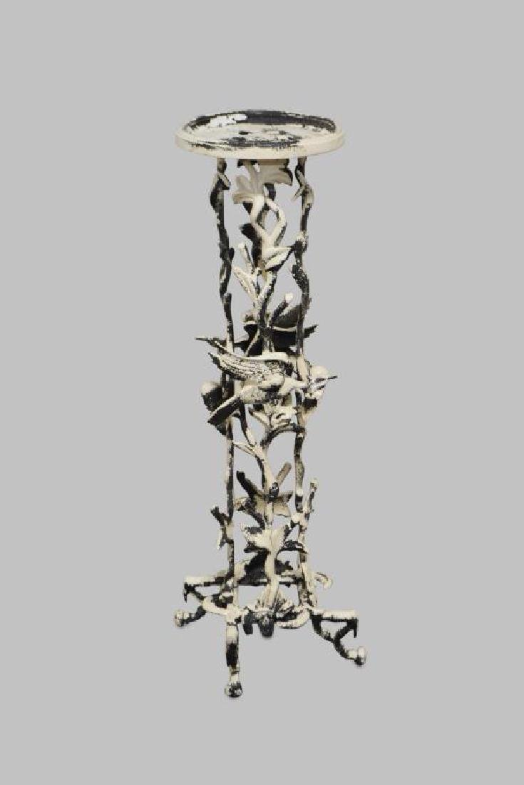 """French Metal Plant Stand 42""""H,   15 1/4""""  x   15 1/4"""""""