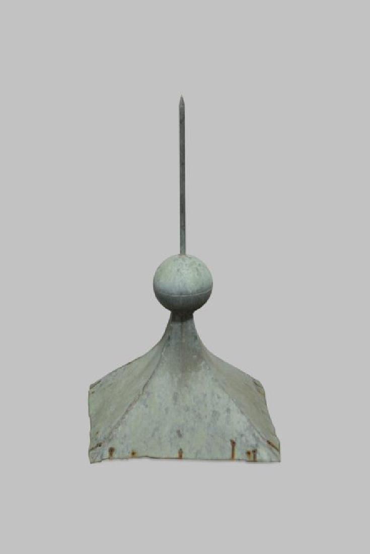 """Copper Cupola Finial 35""""H,   19""""  x   19"""""""