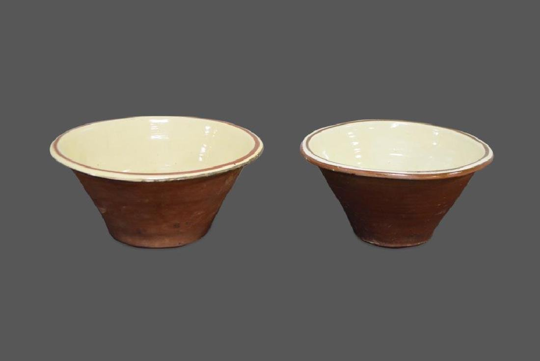 Glazed Pottery Work Bowl
