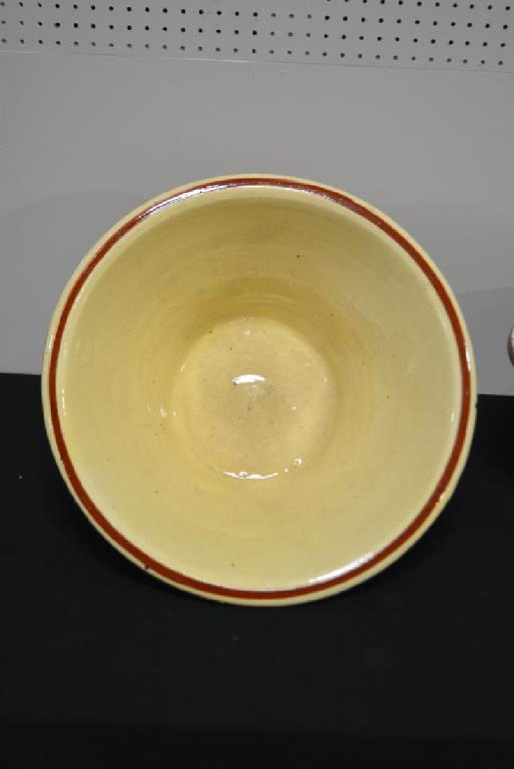 Glazed Pottery Work Bowl - 2