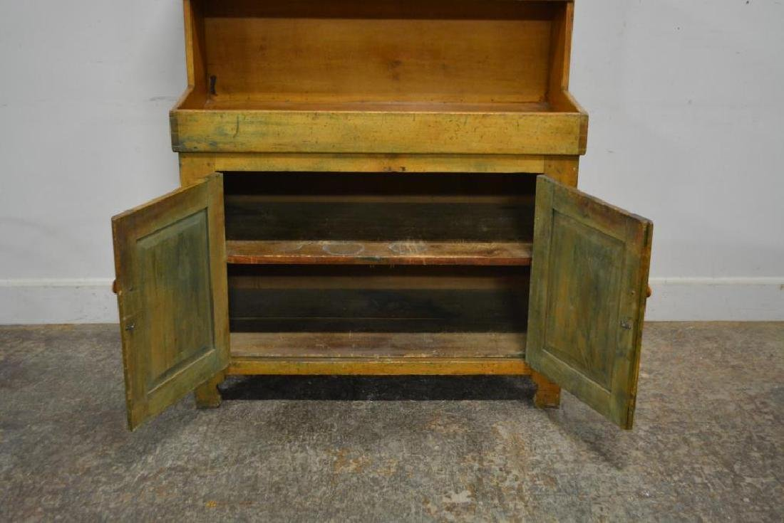 """Early Pa. High Back Dry Sink 49 3/4""""H,   44 1/2""""L,   22 - 2"""