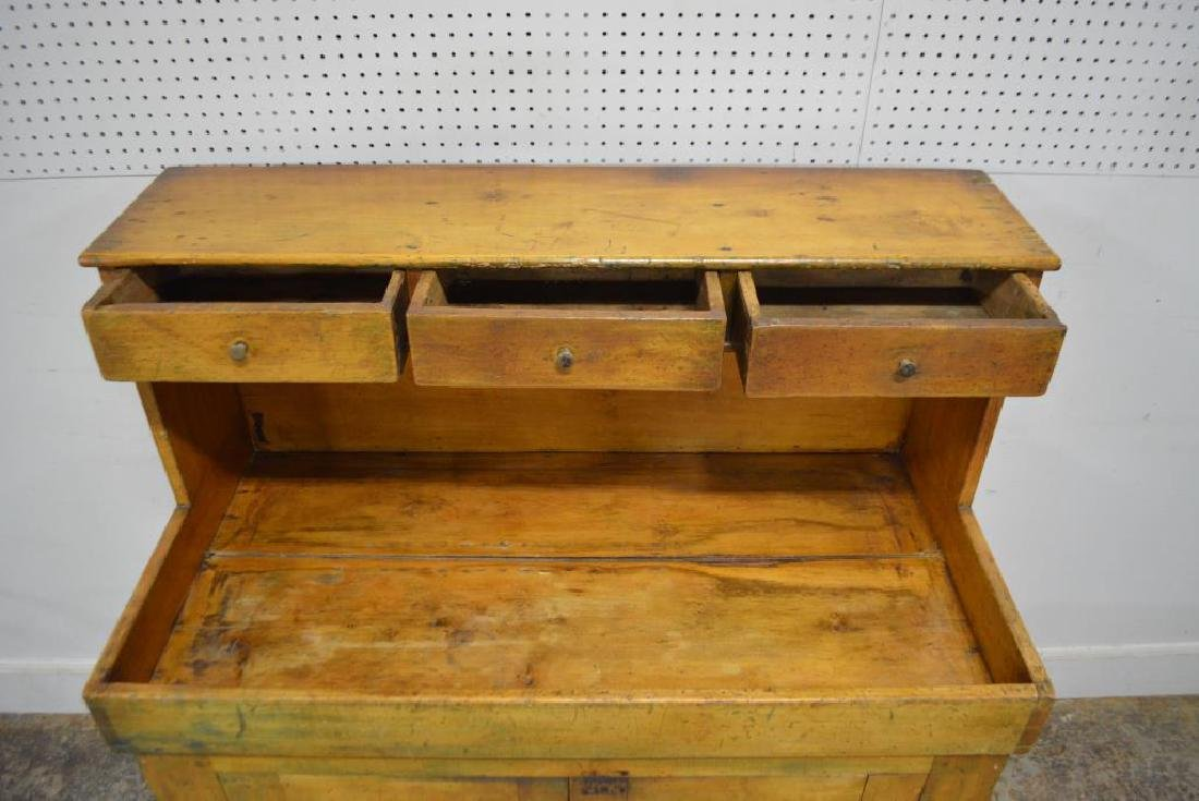 """Early Pa. High Back Dry Sink 49 3/4""""H,   44 1/2""""L,   22 - 5"""