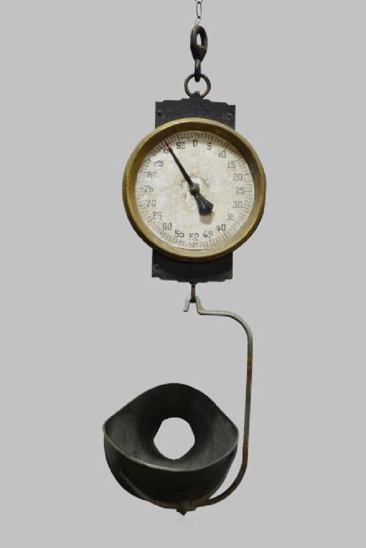 "Hardware Store Scale 39 1/2""H"