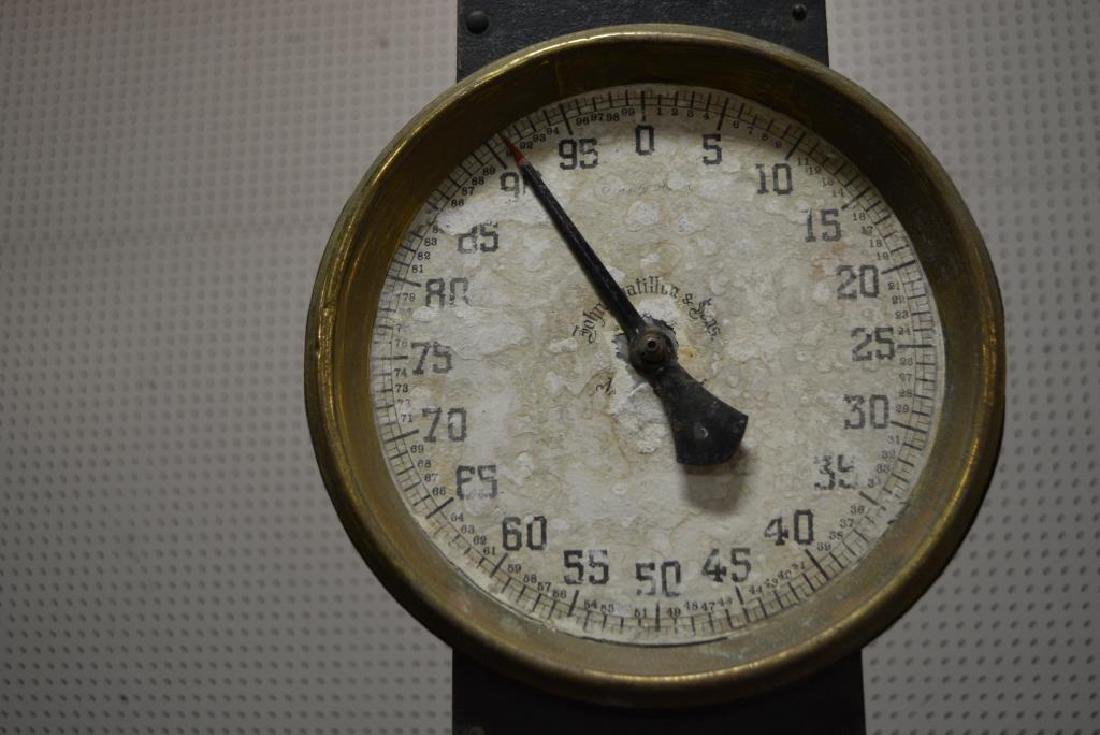 "Hardware Store Scale 39 1/2""H - 2"