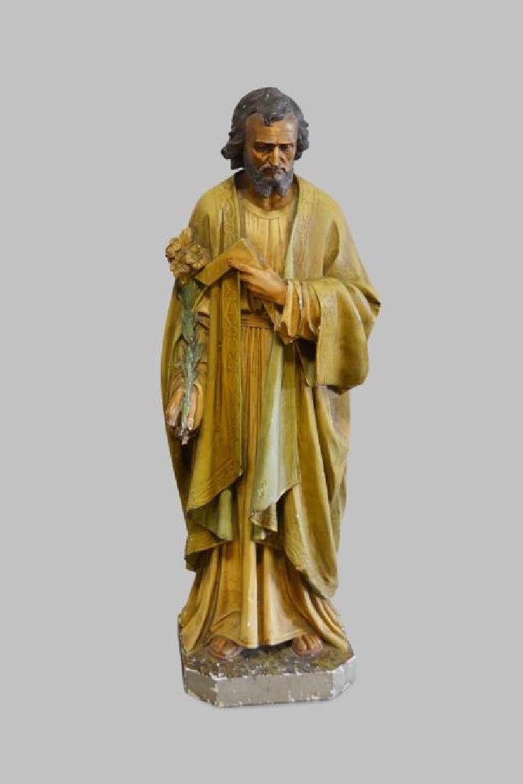 """Religious Statue 62""""H,   23""""  x   18"""""""