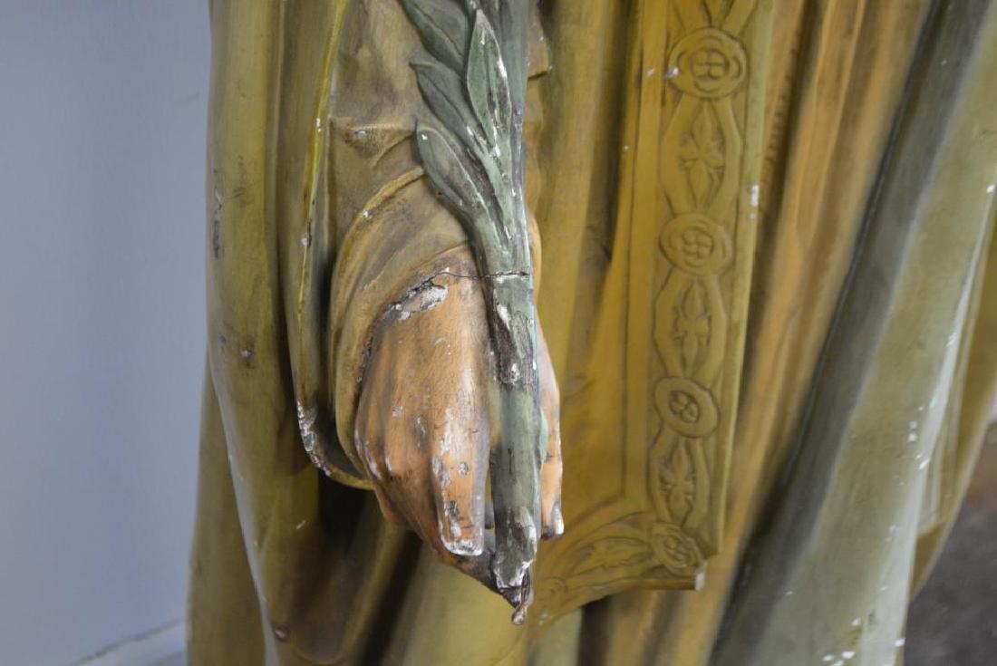 """Religious Statue 62""""H,   23""""  x   18"""" - 2"""