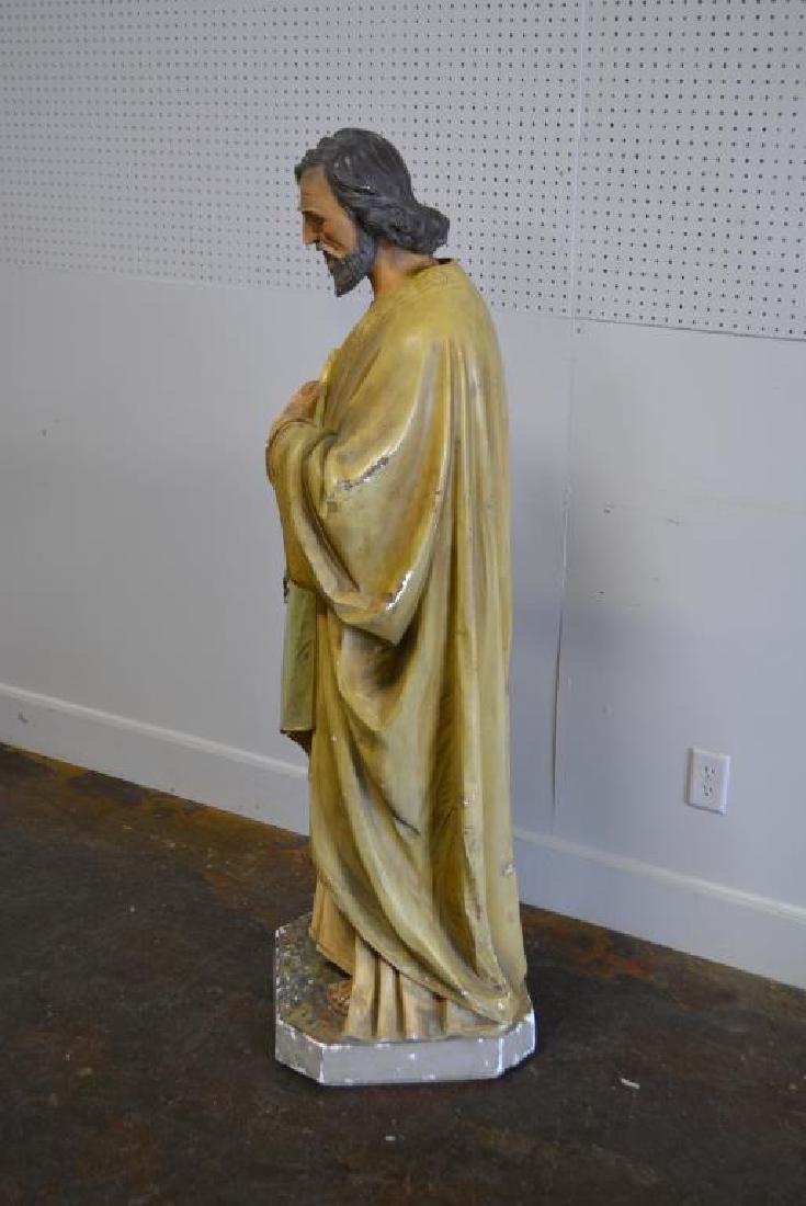 """Religious Statue 62""""H,   23""""  x   18"""" - 3"""