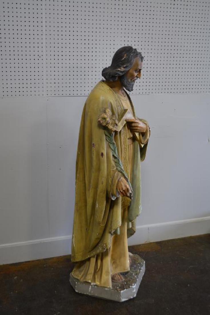 """Religious Statue 62""""H,   23""""  x   18"""" - 4"""