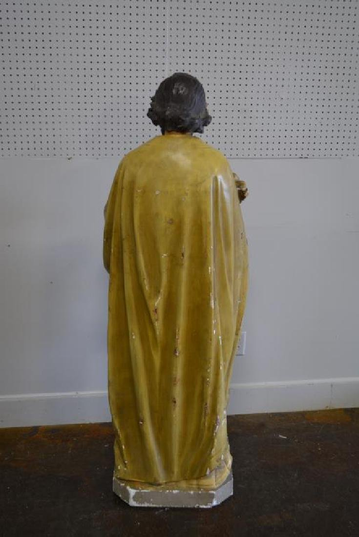 """Religious Statue 62""""H,   23""""  x   18"""" - 5"""