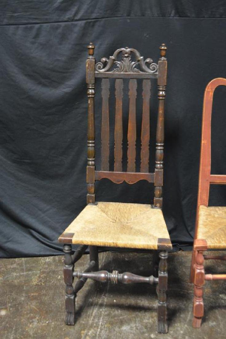 2pc. Lot of Late 18th C. Arm Chairs - 2