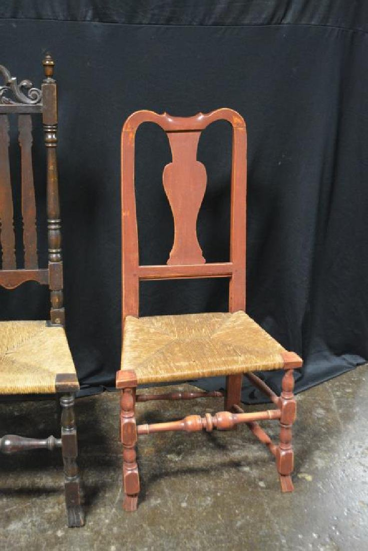 2pc. Lot of Late 18th C. Arm Chairs - 3