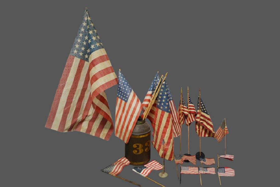 Group Lot of Flags