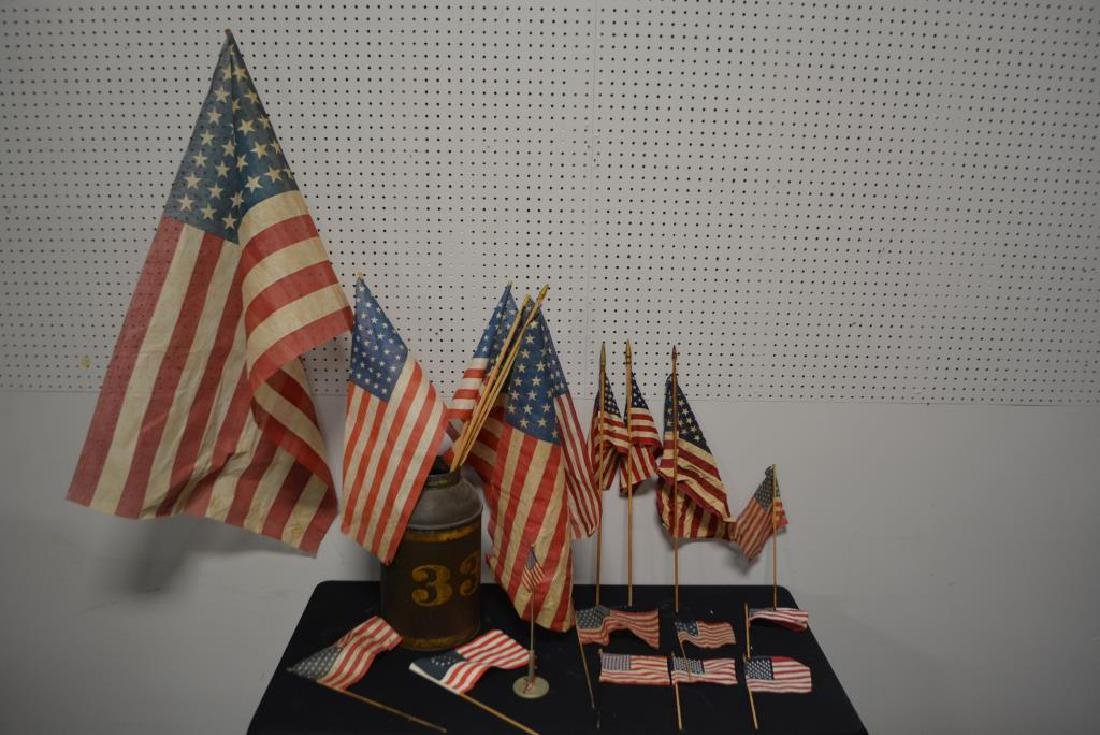 Group Lot of Flags - 2