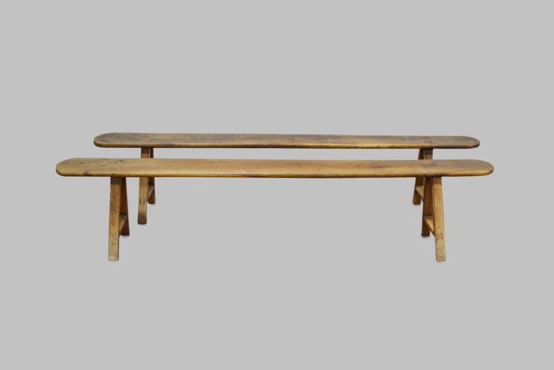 """Mortised Bench X-2 19""""H,   92""""L,   9""""W      ea."""